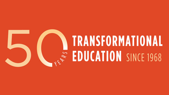50 years of transformational education