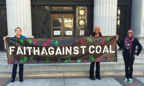 ESR Alumni Kia Jones: Helps to Prevent Coal in Oakland