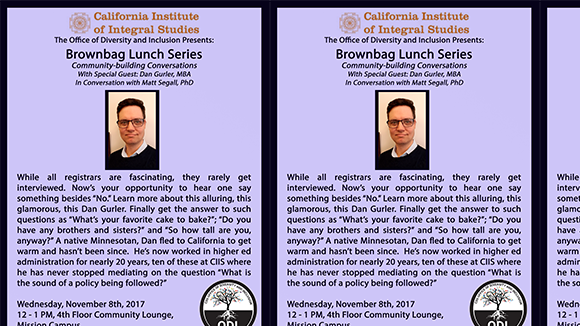 Brownbag Lunch with: Dan Gurler, MBA