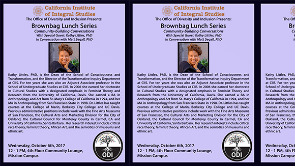 Brownbag Lunch with: Kathy Littles, PhD