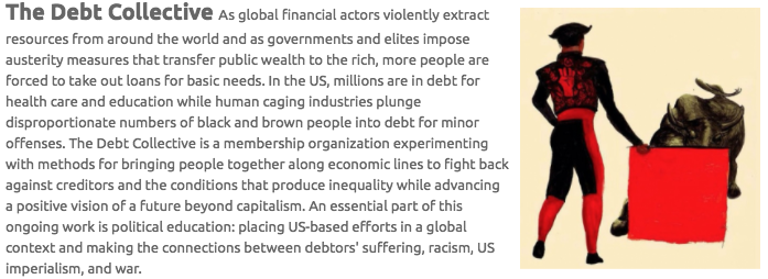 The Debt Collective Bio and Image